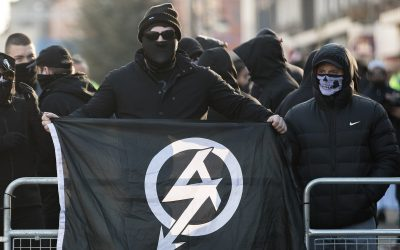 Neo-Nazis are the fastest growing cadre of violent extremists